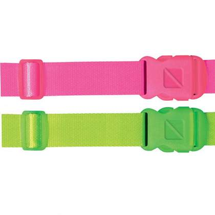 Travel Blue Neon Strap