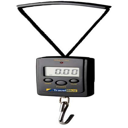 Travel Blue Digital Scales