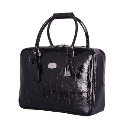 Jasper Conran at Tripp Opulence Croc Laptop Bag in Black