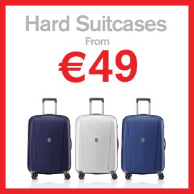 Hard Suitcases from €49