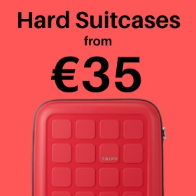 Hard Suitcases from only €35