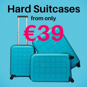 Hard Suitcases from only €39