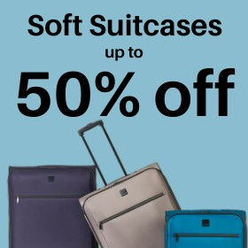 Soft Suitcases up to 50% off