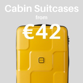 Cabin & carry on from only €42