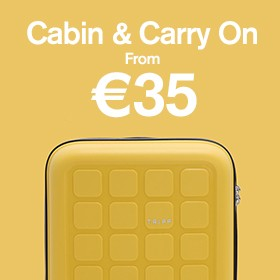 Cabin & carry on from €35