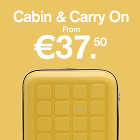 Cabin & carry on from €37.50