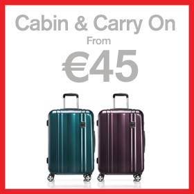 Cabin & carry on from €45