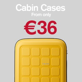Cabin & carry on from €36