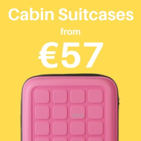 Cabin & carry on from only €40