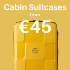Cabin & carry on from only €45