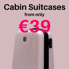 Cabin & carry on from only €39