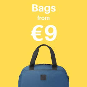 Bags from only €14