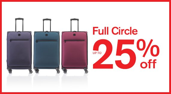 Full Circle Up to 25% off