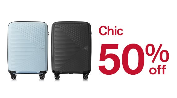 Chic up to 50% off