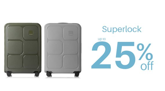 Superlock up to 25% off