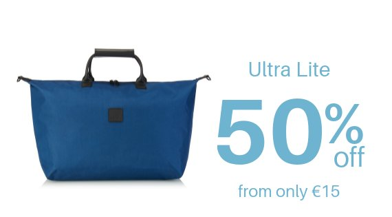 Ultra Lite Ocean Blue Totes - 50% off
