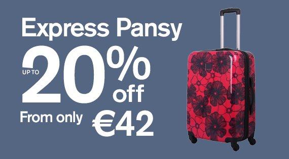 Express Pansy up to 20% off