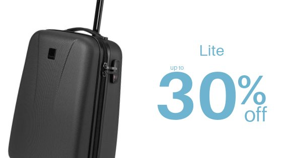 Lite - up to 30% off