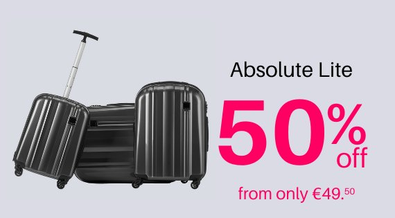 Absolute Lite up to 50% Off