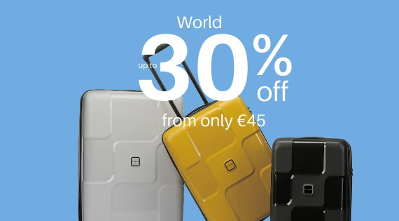 World up to 30% off