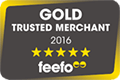 Gold Trusted Merchant Feefo
