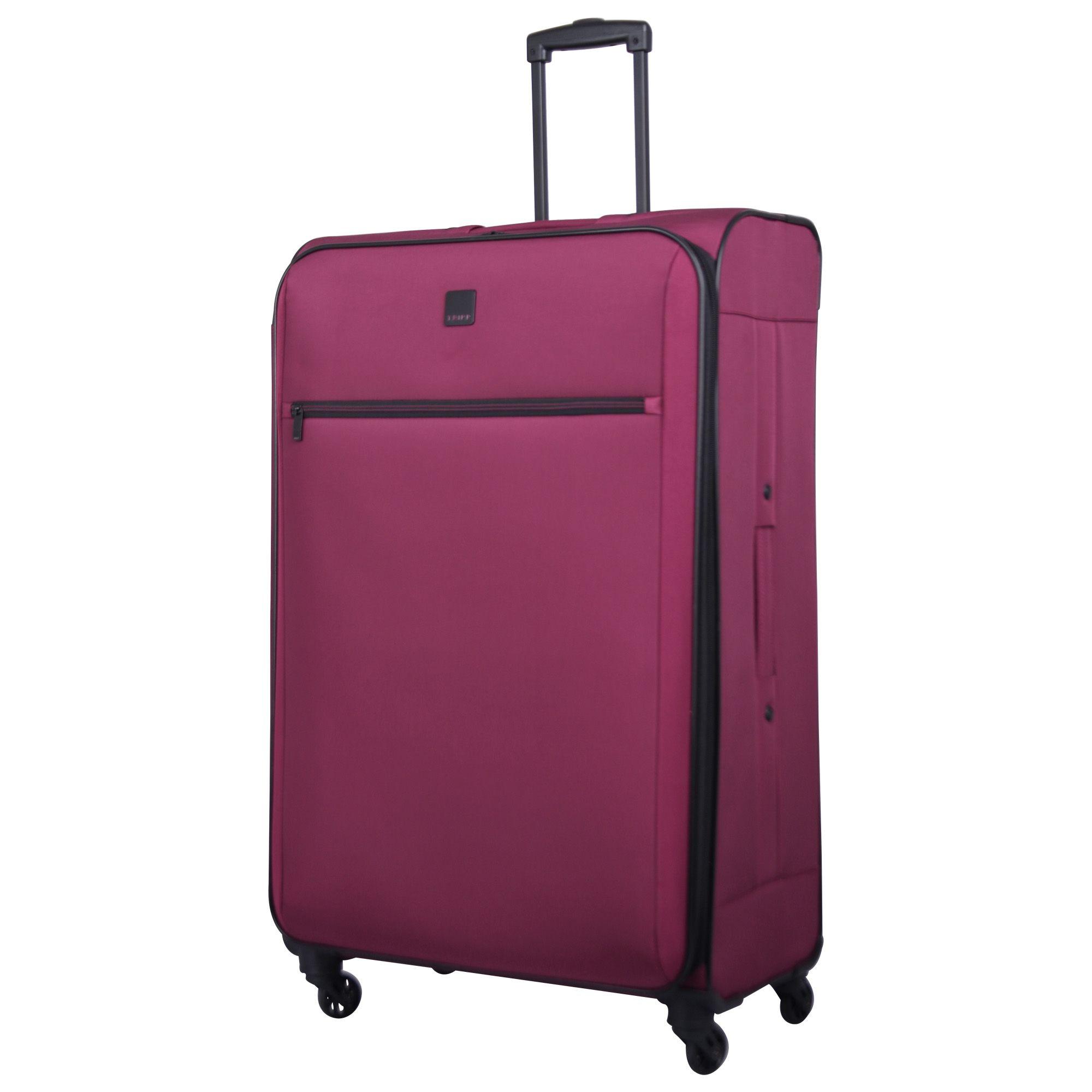 tripp scarlet 39 full circle 39 4 wheel large suitcase tripp. Black Bedroom Furniture Sets. Home Design Ideas