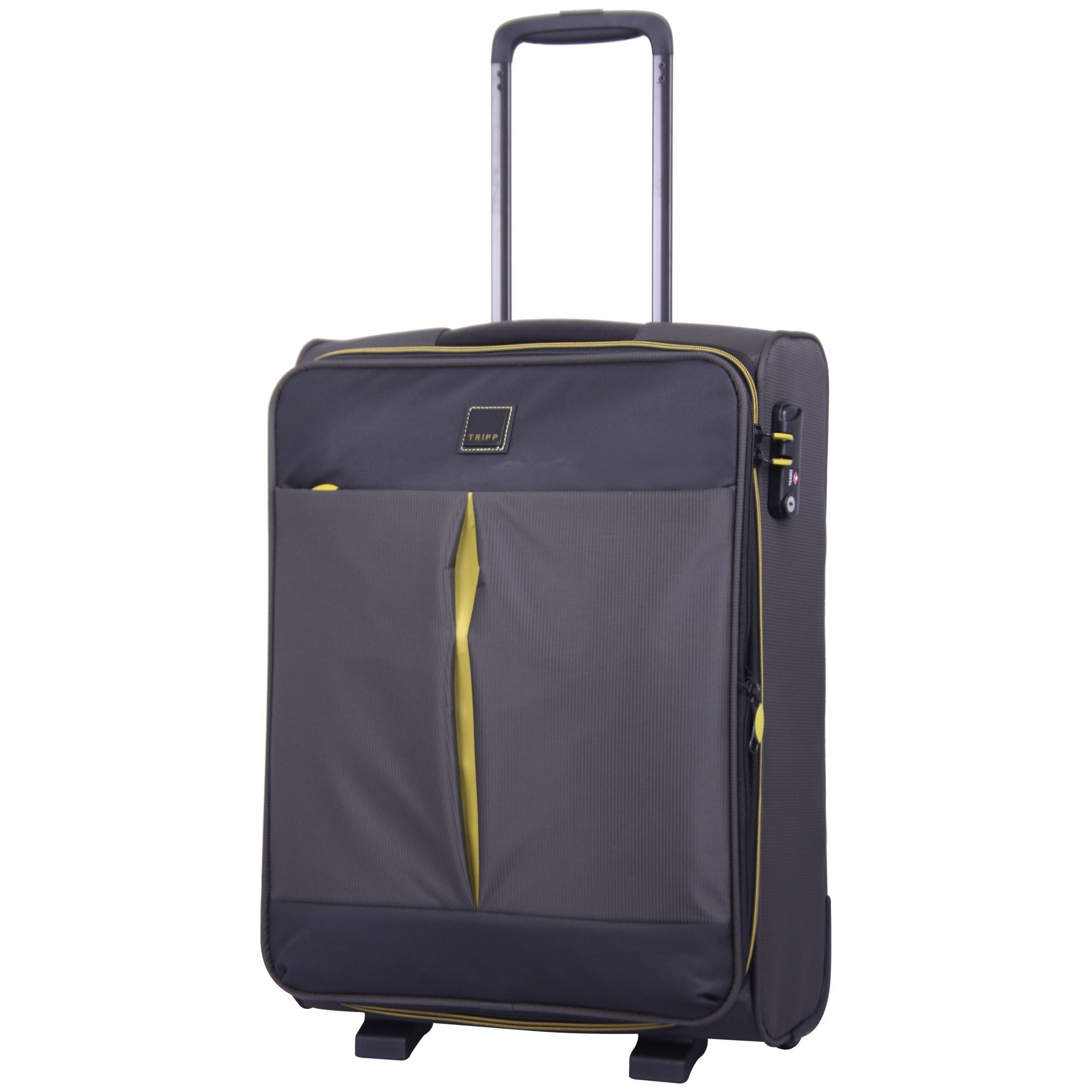 tripp graphite 39 style lite 39 cabin 2 wheel exp suitcase. Black Bedroom Furniture Sets. Home Design Ideas