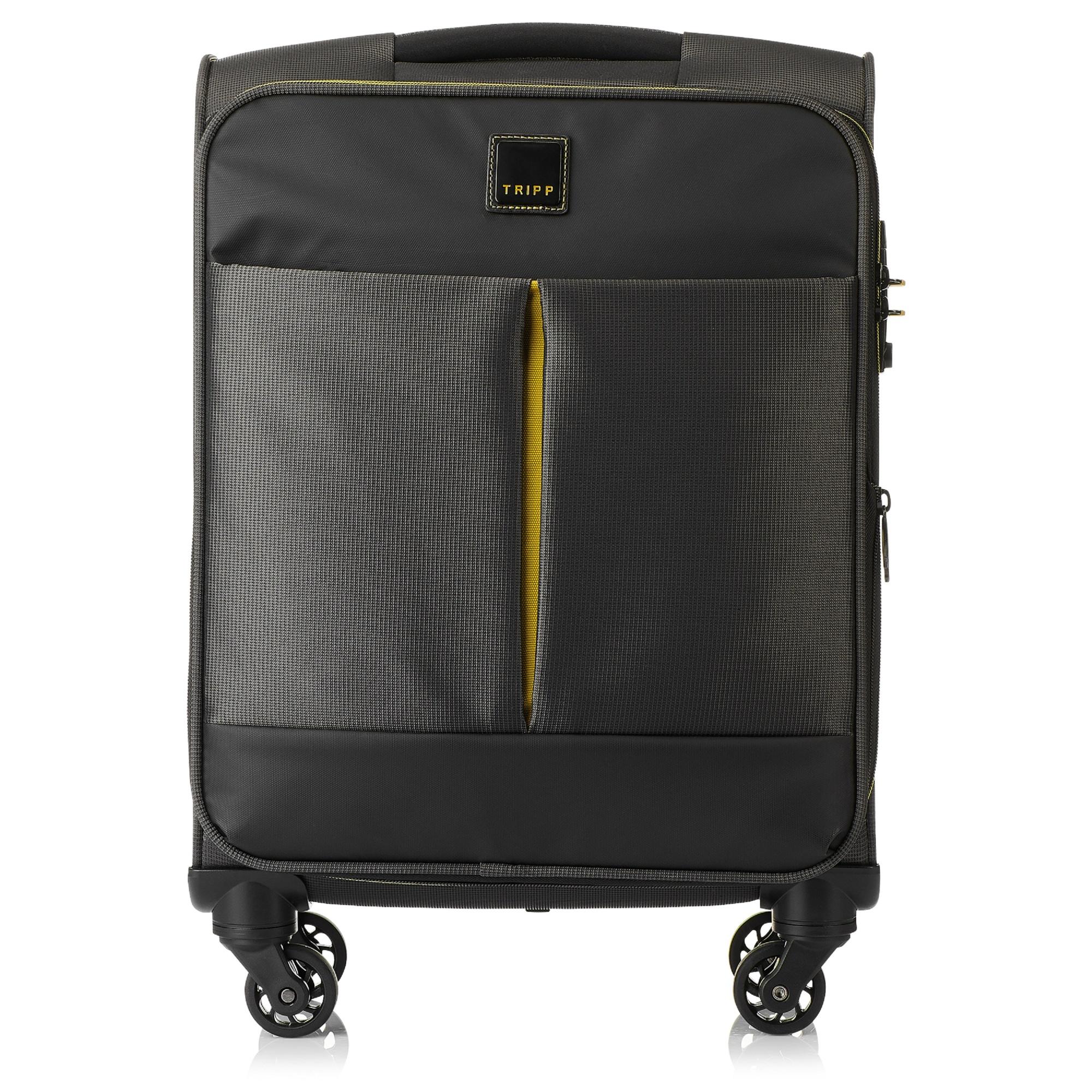 1ac7439c149 Tripp Graphite 'Style Lite' Cabin 4 Wheel Exp Suitcase - Soft Suitcases    Tripp Ireland
