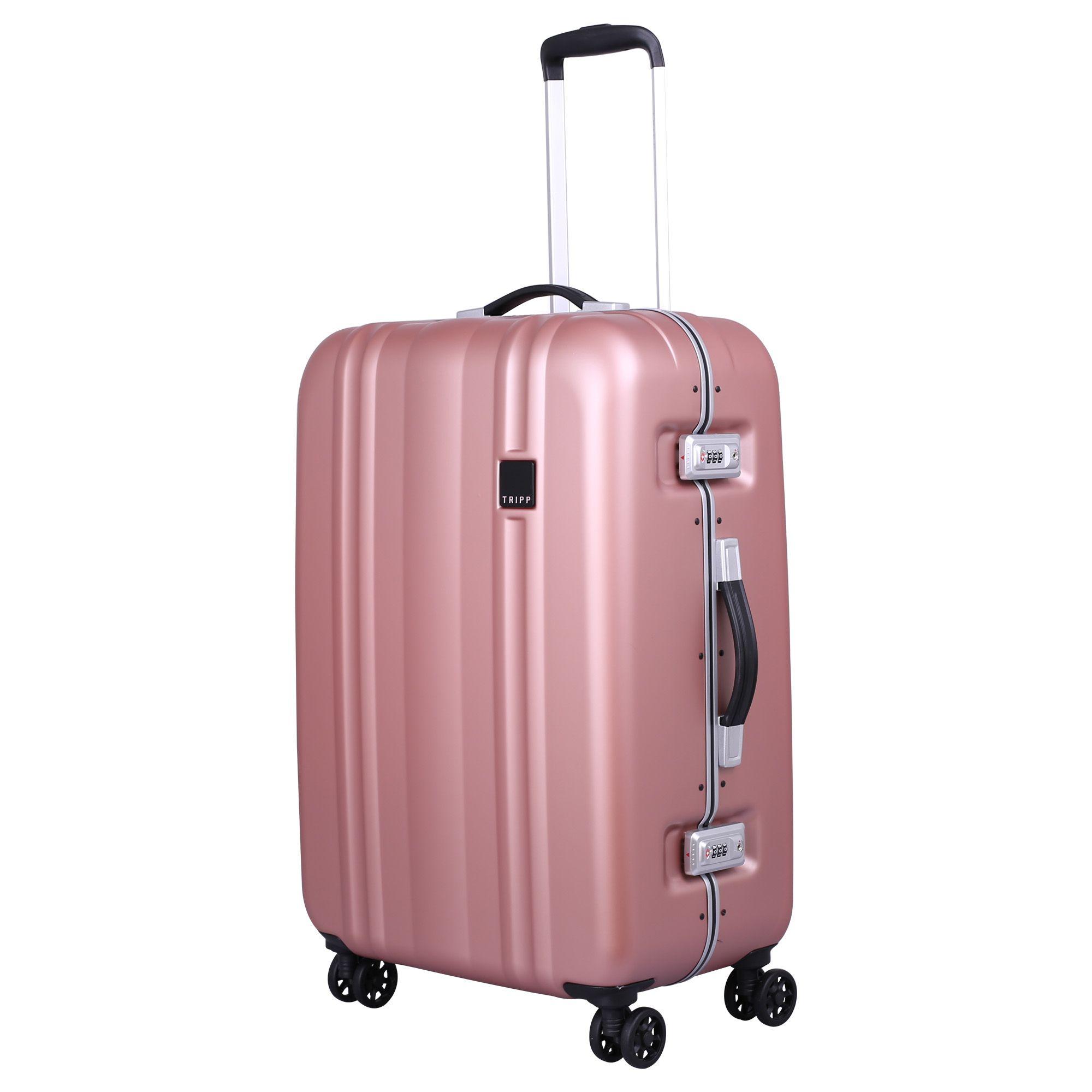 Tripp Blush  Absolute Lite II Frame  Medium 4 Wheel Case - Hard Suitcases  721b3278986f8