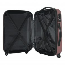 Tripp rose gold 'Lite' 4-wheel cabin suitcase