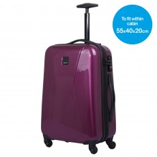 Tripp mulberry 'Chic' 4 wheel cabin suitcase