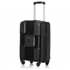 "Tripp black II ""World"" 4 wheel cabin suitcase"