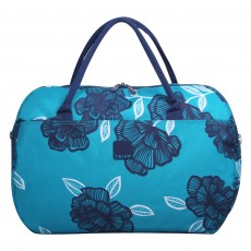 Tripp Turquoise/Navy  'Bloom' Large Holdall