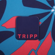 Tripp ultramarine/poppy 'Sunshine Flower'  holdall