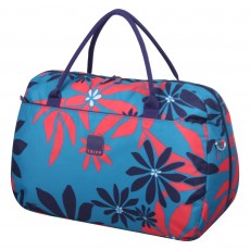 Tripp ultramarine/poppy 'Sunshine Flower'  large holdall