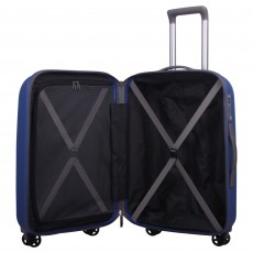 Tripp china blue 'Ultimate Lite' cabin 4 wheel suitcase