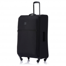 Tripp Black 'Ultra Lite' 4 Wheel Large Suitcase