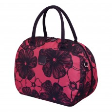 Tripp rose/navy ' Outline Pansy' holdall