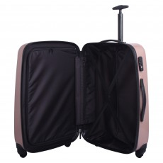 Tripp blush gloss 'Lite' large 4 wheel suitcase