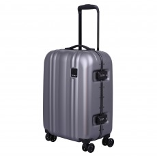 Tripp Pewter 'Absolute Lite II' Cabin 4 Wheel Suitcase