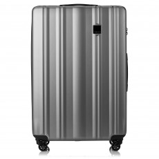 Tripp Pewter 'Retro' Large 4 Wheel Suitcase