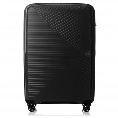 Tripp Black 'Chic' Large 4 Wheel Suitcase