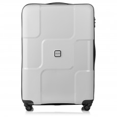 Tripp Dove Grey ' World' large 4 wheel suitcase