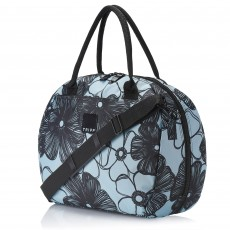 Tripp Ice Blue/Black 'Pansy' Holdall