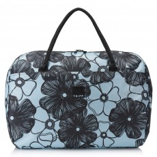 Tripp Ice Blue/Black 'Pansy' Large Holdall