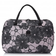 Tripp Blush/Black 'Pansy' Large Holdall