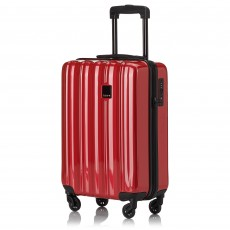 Tripp Red Gloss 'Retro' Cabin 4 Wheel Suitcase