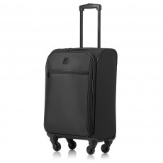 Tripp Black 'Full Circle' Slim Cabin 4 Wheel Suitcase