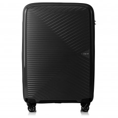 Tripp Black 'Chic' Medium 4 Wheel Expandable Suitcase