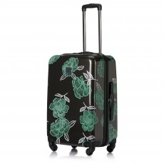 Tripp Slate/Sea Green 'Bloom' Medium 4 Wheel Suitcase